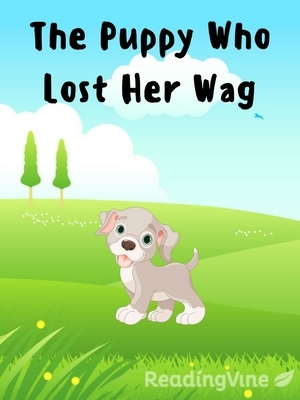 The puppy who lost her wag