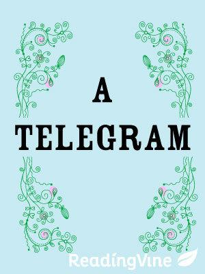 A telegram