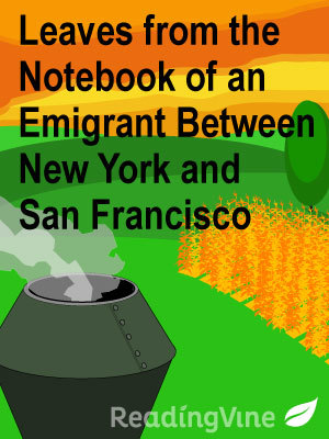 Leaves from the notebook of an emmigrant