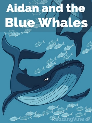 Aidan and the blue whales