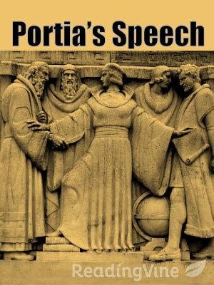 Portia s speech