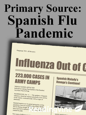 Primary source spanish flu