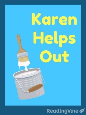 Karen helps out