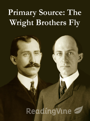 Primary source the wright brothers fly