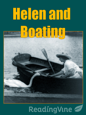 Helen and boating