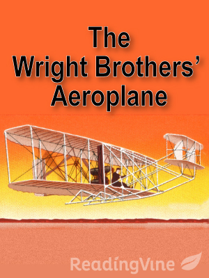 The wright brothers aeropla