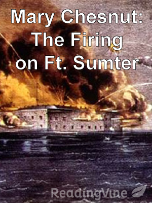 M chesnut fort sumter