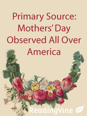 Primary source mothers day