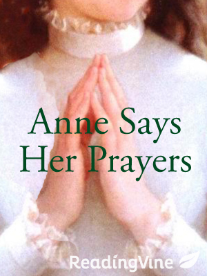Anne says her prayers