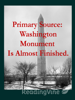 Primary source washington m
