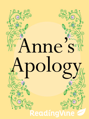 Anne s apology