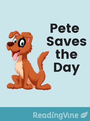 Pete saves the day illustration