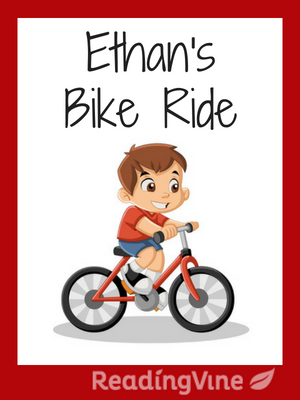 Ethan s bike ride illustration