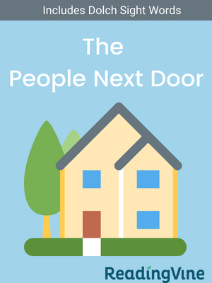 The people next door illustration