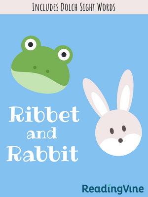 Ribber and rabbit illustration