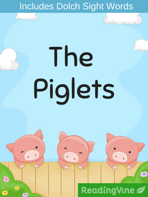 The piglets illustration