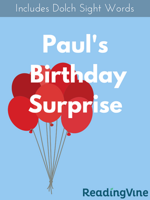Paul s birthday surprise illustration
