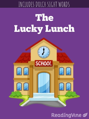 The lucky lunch illustration