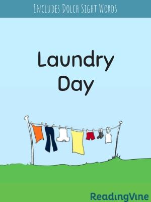 Laundry day illustration