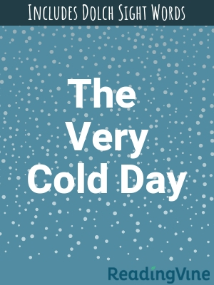 The very cold day illustration