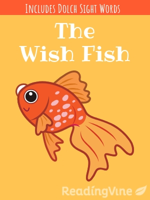 The wish fish illustration