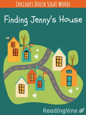 Finding jenny s house illustration