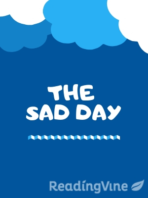 The sad day illustration