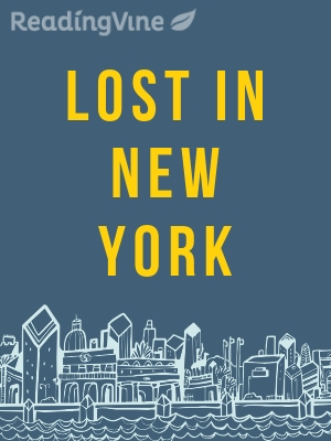 Lost in new york illustration