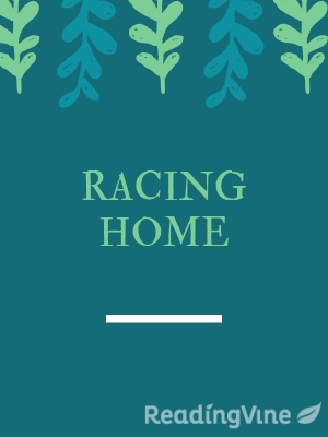 Racing home illustration