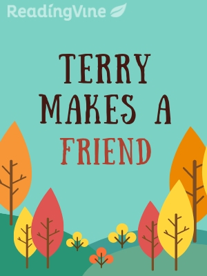 Terry makes a friend illustration
