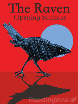 The raven opening stanzas