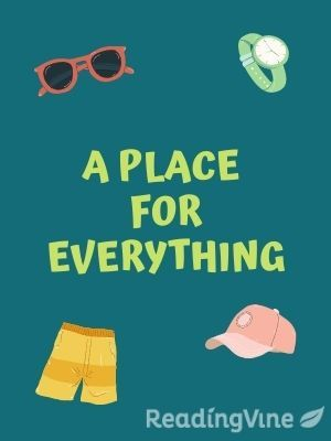A place for everything illustration