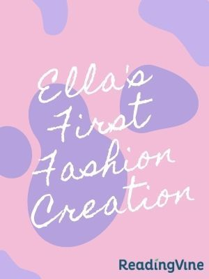 Ella s first fashion creation illustration