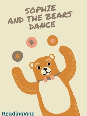 Sophie and the bears dance illustration