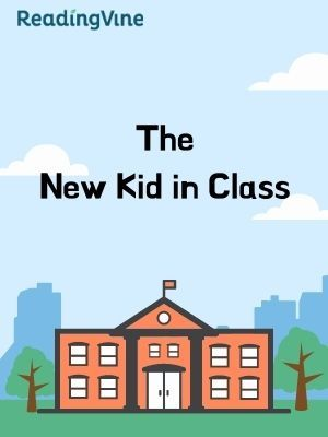 The new kid in class illustration