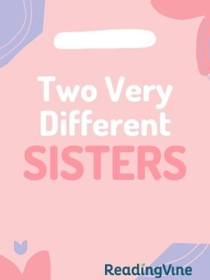 Two very different sisters illustration