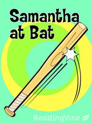 Samantha at bat