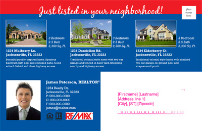 real estate postcards ready to go newsletters members site