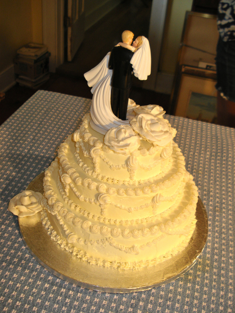An OldFashioned Wedding Cake Of Great Sentiment Real Baking - Old Fashioned Wedding Cake