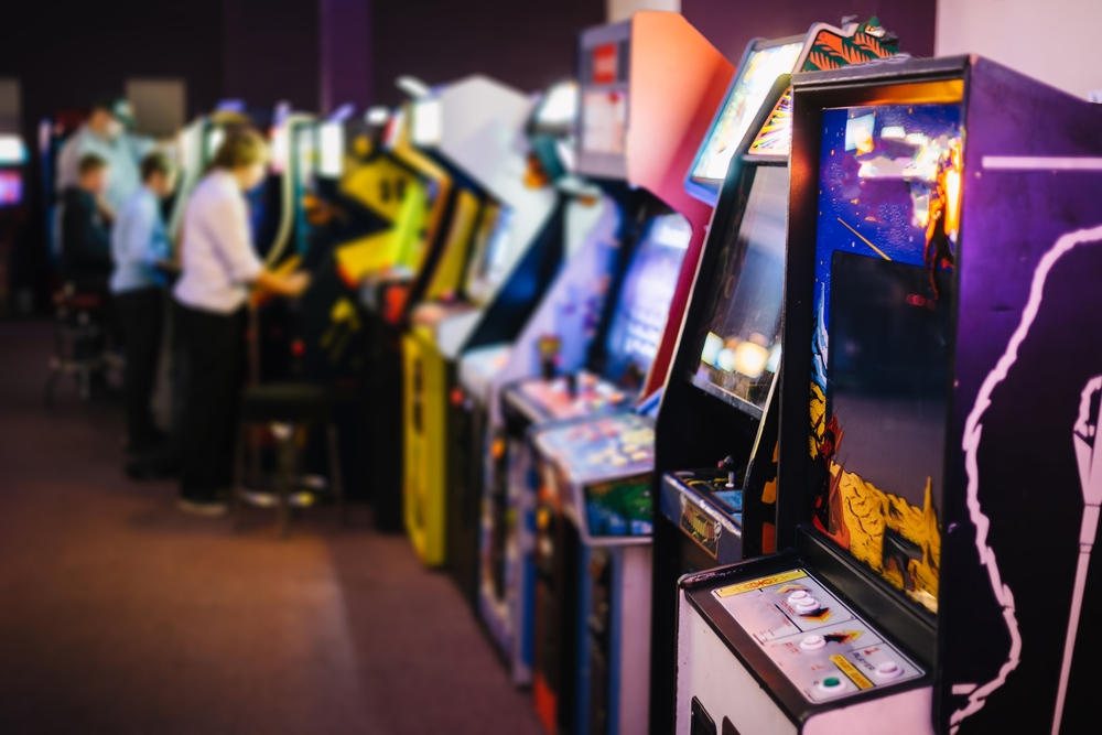 games in an arcade