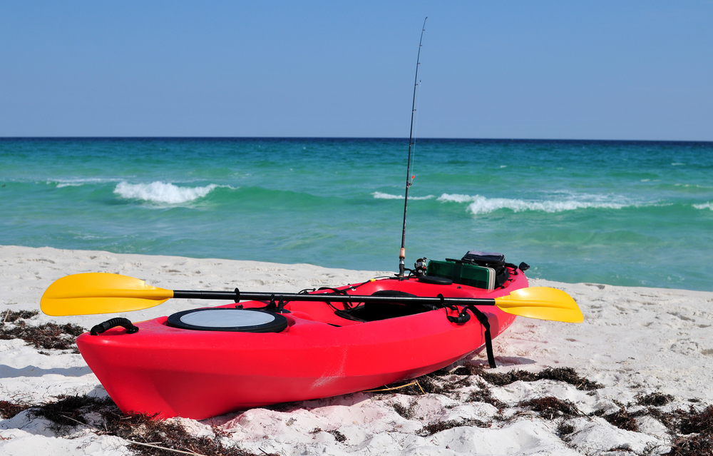 kayaking on the gulf