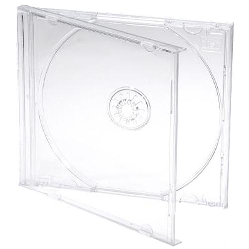 Clear jewel case