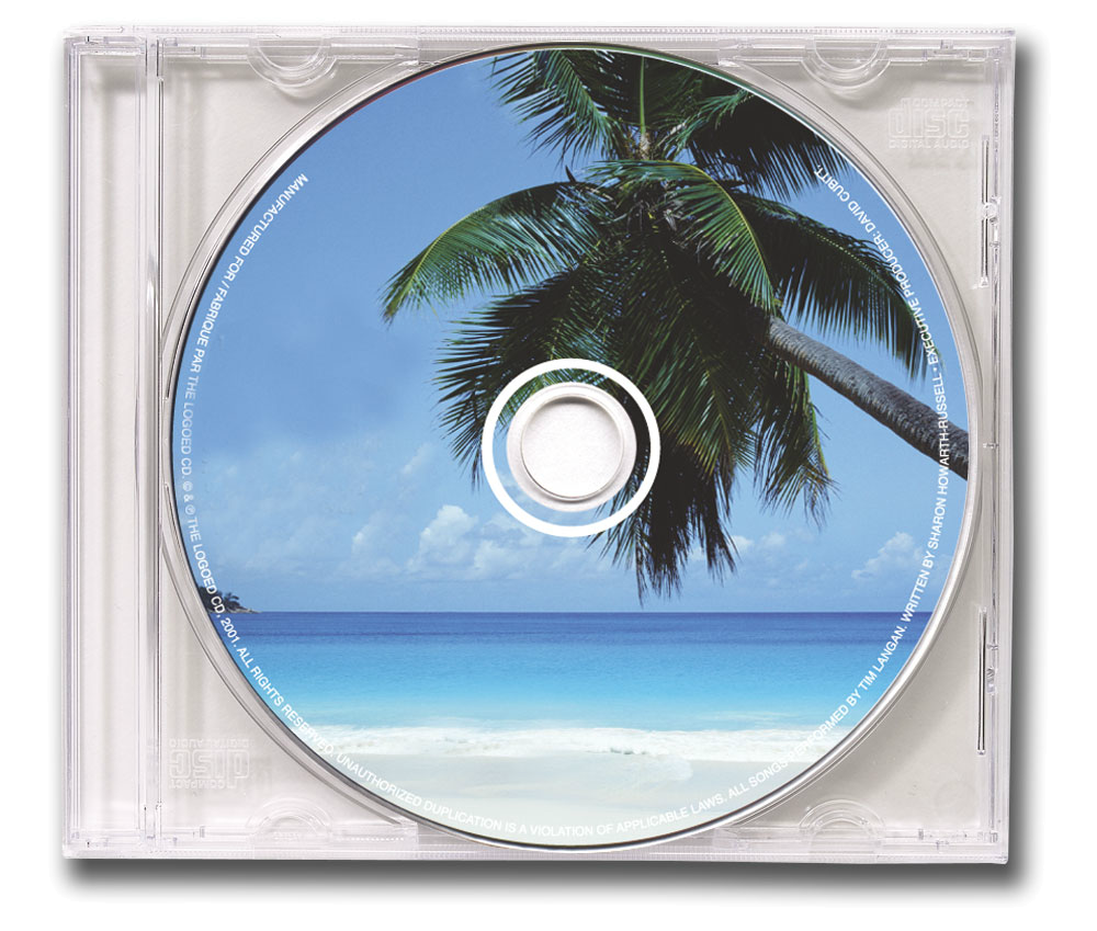 Custom CD in clear jewel case
