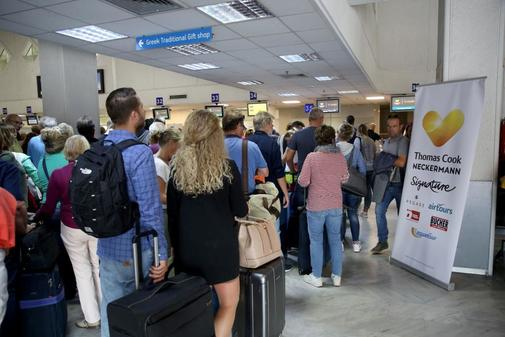 Thomas Cook travelers stranded