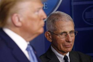 POTUS Donald Trump and Dr. Anthony Fauci