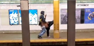 Brooklyn Couple having sex in subway station