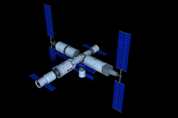 China reveals plan for 'Heavenly Palace' space station to rival ISS