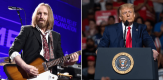 """Tom Petty sends POTUS Donald Trum a """"Cease And Desist"""" order after one of his songs was used at a Trump rally"""