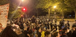 """POTUS Donald Trump said that if protesters try to set up an """"Autonomous Zone"""" in D.C. they willl meet """"serious force"""""""