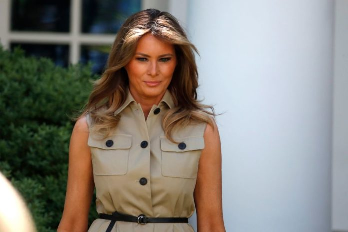 FLOTUS Melania Trump slams John Henson's comments on her son Barron Trump